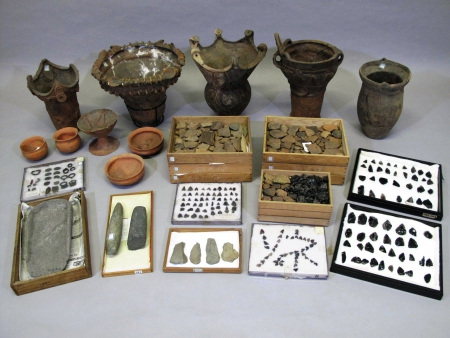 Archaeological materials from the Suwa region